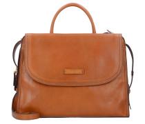 Handtasche 'Pearldistrict' 36 cm cognac