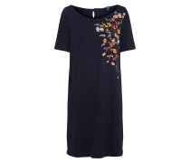 Kleid 'Solid Embroidery' navy