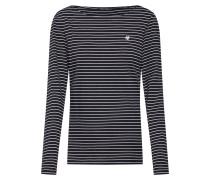 Shirt creme / schwarz
