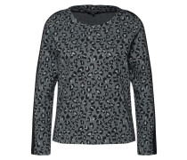Sweatshirt dunkelgrau / schwarz