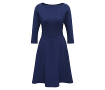 Jerseykleid mit ausgestelltem Rock blau