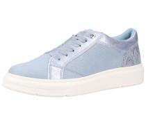 Sneaker 'Glitzer Sneaker' rauchblau
