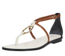 Sandale 'Nanine' beige / braun