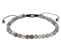 Armband 'Bead Bracelet' grau
