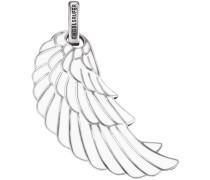 Anhänger 'Flügel Erw-L2-Enw' silber