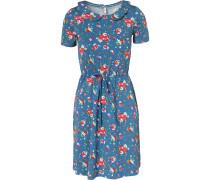 Kleid himmelblau / mischfarben