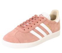 Sneaker 'gazelle W' rosé / weiß