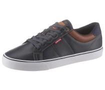 Sneaker 'Abbott' navy / braun