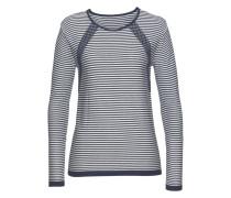 Pullover marine / naturweiß