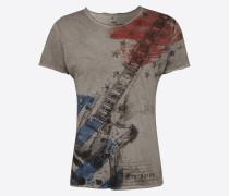 T-Shirt 'MT Stars Guitar round'