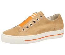 Sneaker dunkelorange / braun