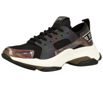 Sneaker silber / schwarz