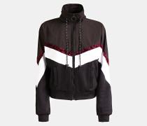Sweatshirt blutrot / schwarz / weiß