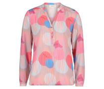 Bluse mischfarben / pastellpink