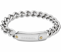 Armband 'steel Dx1114040' silber