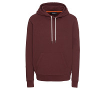 Hoodie 's-Palmy Sweat-Shirt' bordeaux