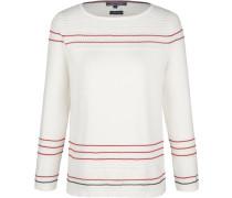 Pullover 'valentina' rot / weiß