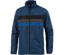 Jacke blau / dunkelgrau / schwarz