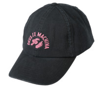 Kappe 'Temple Worm' pink / schwarz