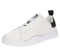 Sneaker 's-Clever Low' schwarz / weiß