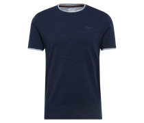 T-Shirt 'cn 2in1 mel ss' navy