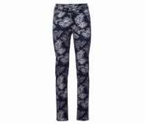 Bodyform-Druckhose mit Blumendessin