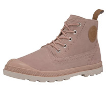 'London LP' Schnürstiefeletten rosa