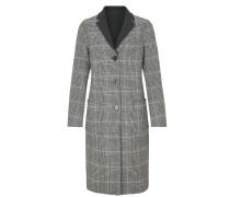 Mantel grau / schwarz / weiß