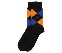 Socke 'Queen Sock' schwarz