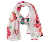 Bunter Blumen-Schal