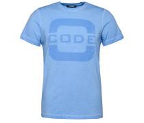 T-Shirt 'Foresail' rauchblau
