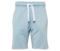 Shorts 'washed Shorts' hellblau