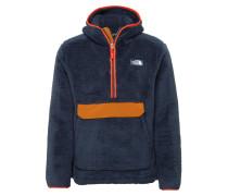 Jacke dunkelblau / orange