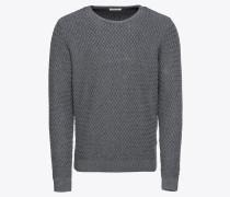 Pullover 'Small Diamond Knit - Gots'