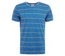 Shirt 'sg-069Cc2K003' blau / weiß