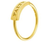 Ring 'Faith' gold