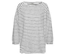 Shirt 'Shane Jaquard' schwarz / weiß