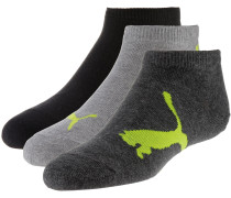 Socken gelb / grau / dunkelgrau / schwarz