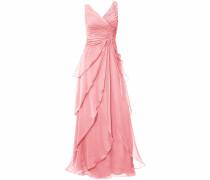 Abendkleid rosé