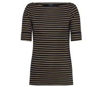 Shirts 'judy' gold / schwarz