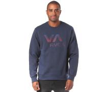 Sweatshirt 'Va Crew' blau