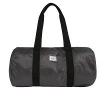 Duffle-Tasche dunkelgrau / schwarz