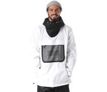 Snowboardjacke 'Asap' schwarz / weiß