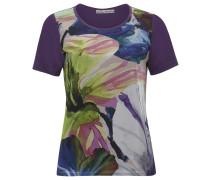 Blusenshirt Blumen mischfarben