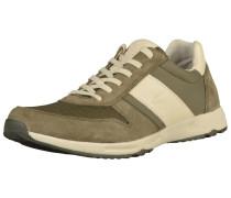 Sneaker beige / oliv