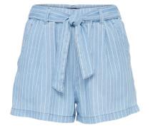 Shorts 'wiona' blue denim / weiß