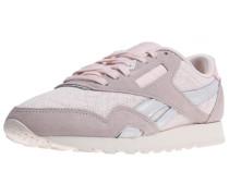 Sneaker taupe / altrosa