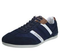 Sneakers navy / braun / weiß
