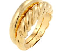 Ring 'Twisted' gold