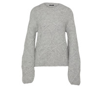 Pullover 'throne Crew Knit Pmb' grau